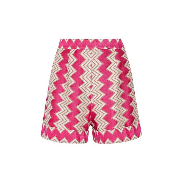 Crochet Shorts - Pink