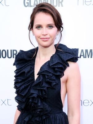 Felicity Jones Just Debuted the Prettiest Engagement Ring