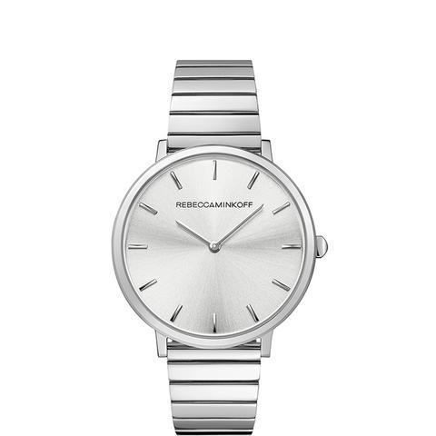 Major Silver Tone Bracelet Watch