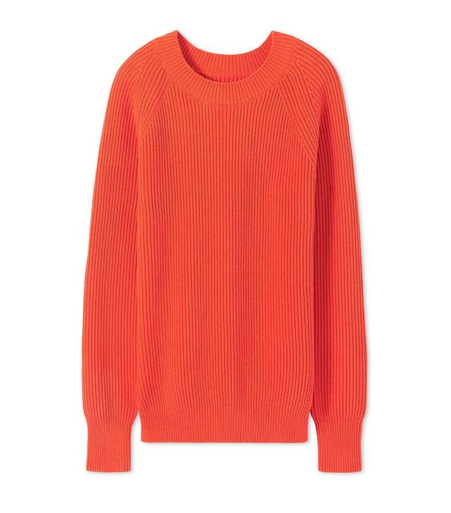 Tory Sport Raglan Cotton Sweater
