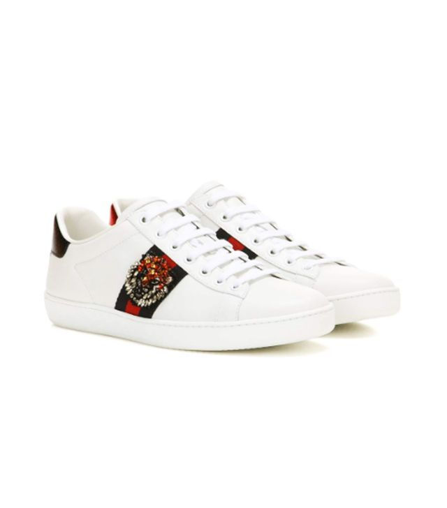 Gucci Leather Trainers