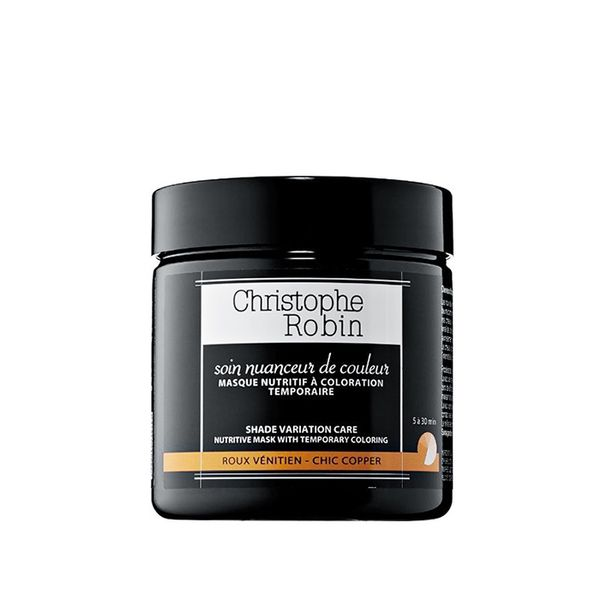 Shade Variation Care Nutritive Mask with Temporary Coloring - Chic Copper 8.33 oz