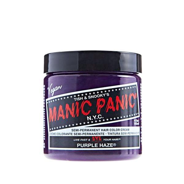 Manic Panic Semi-Permanent Hair Color Cream in Purple Haze