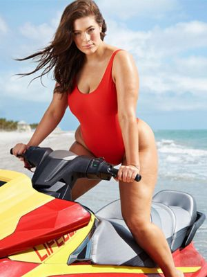 "Don't Call Ashley Graham ""Brave"" for Wearing a Swimsuit"