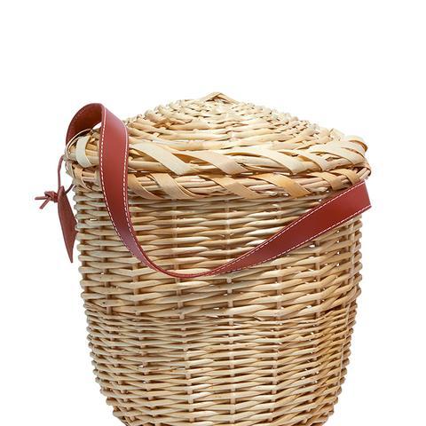 Small Tan Birkin Basket