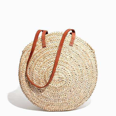 Lucena Oval Round Shopper Basket