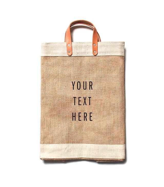 Apolis Customize Your City Series Market Bag