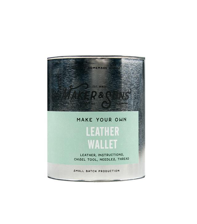 Maker & Sons DIY Leather Wallet Kit