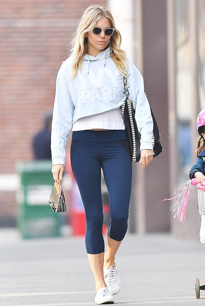 sienna miller legging outfit
