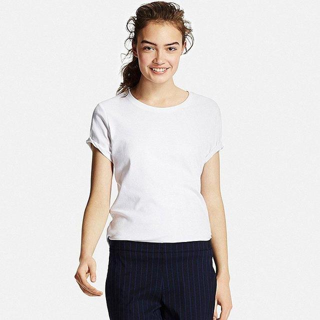 Women's Supima- Cotton Crew Neck T-Shirt