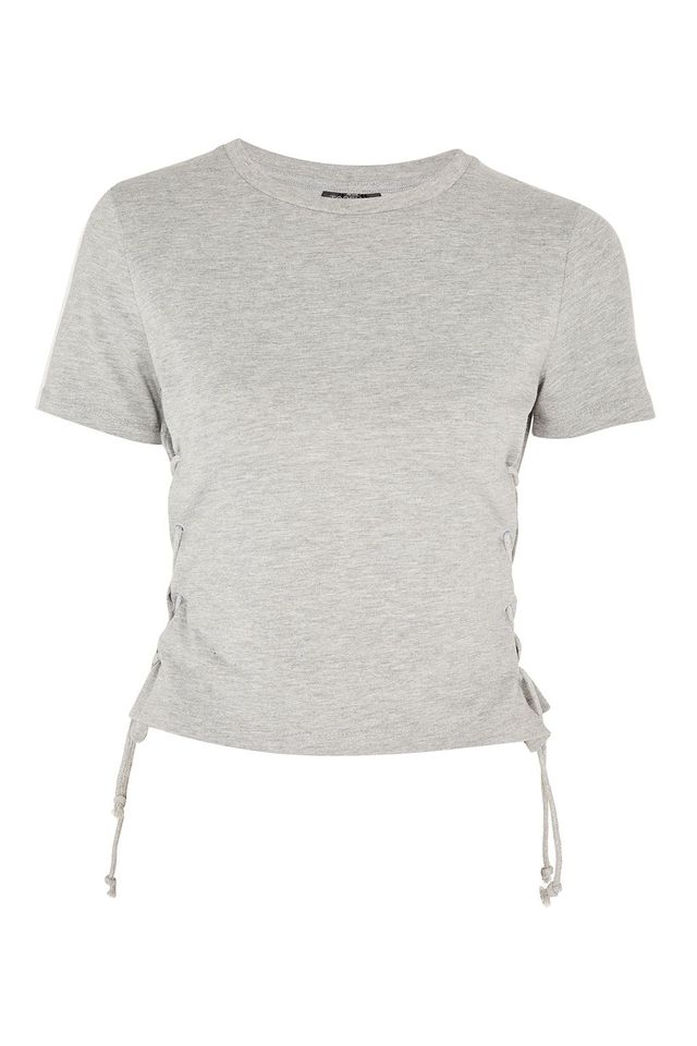 PETITE Corset Side T-Shirt