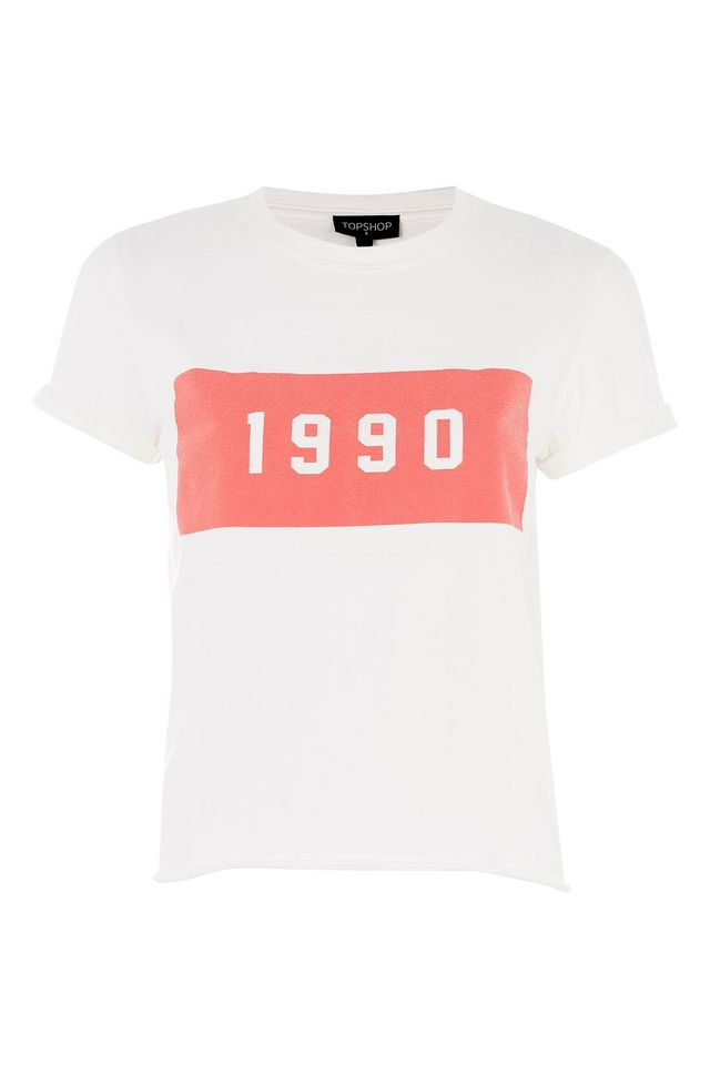 PETITE '1990' Washed T-Shirt