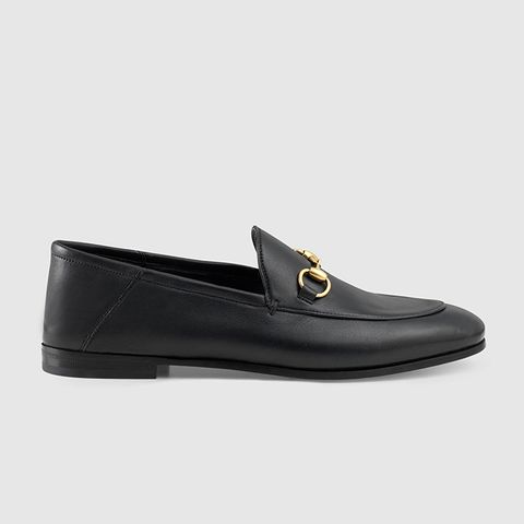Brixton Leather Horsebit Loafers
