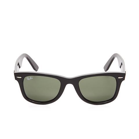 Wayfarer Straight Sunglasses