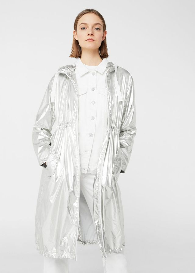 MNG Light Metallic Parka