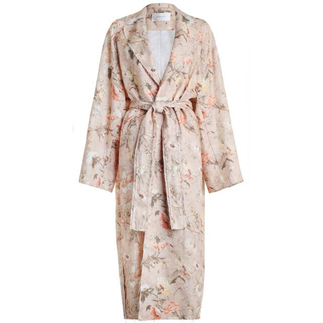 Zimmermann Bowerbird Duster Trench