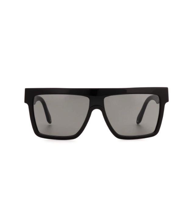 Victoria Beckham Flat Top Visor Sunglasses