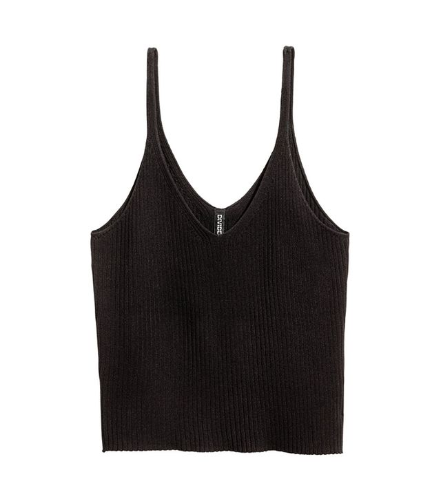 Rib-knit Tank Top