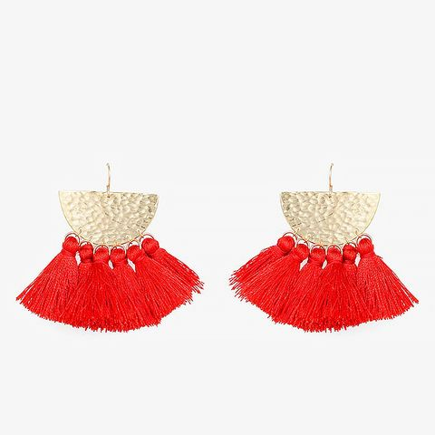 Sunrise Tassel Earrings