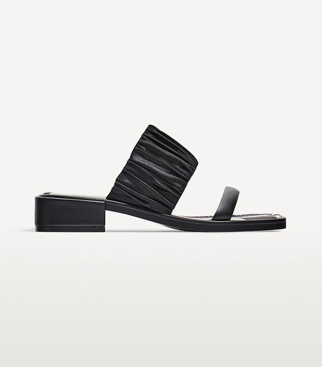 Zara Flat Striped Sandals
