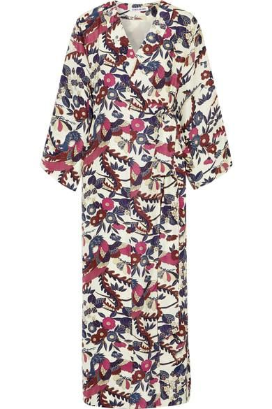 Howe Floral-print Silk Maxi Dress