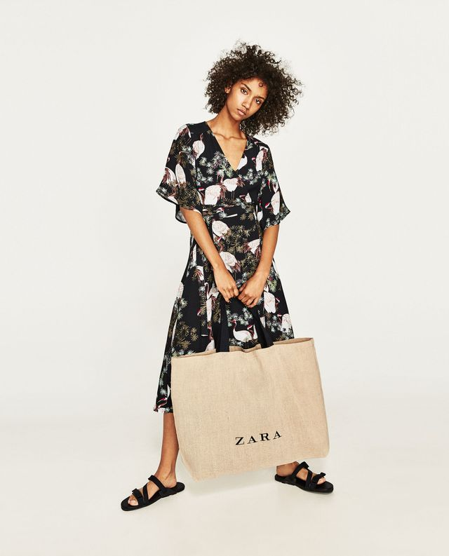 Zara Jute Tote Bag