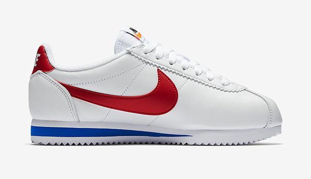 Bella Hadid Nike Cortez sneakers
