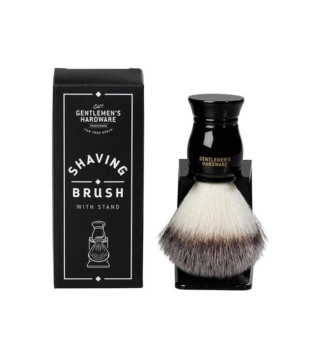 Gentlemen's Hardware Shaving Brush With Stand