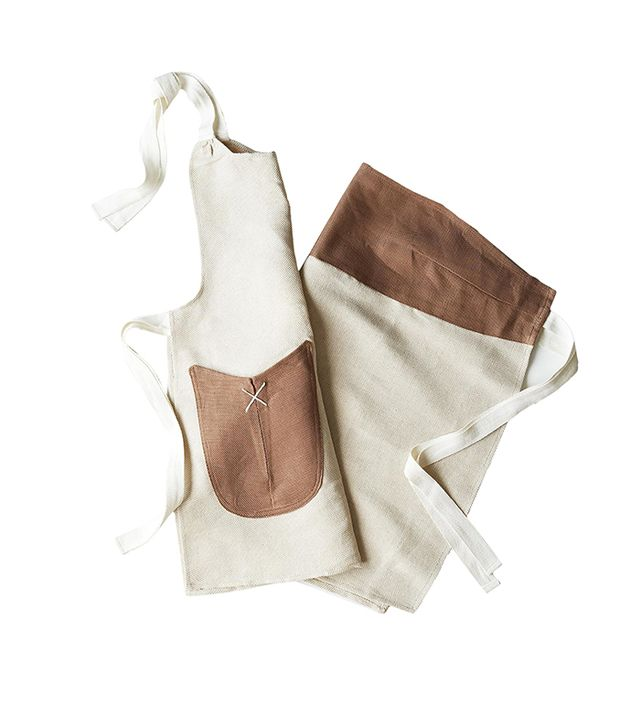 Heirloomed Children & Adult Aprons