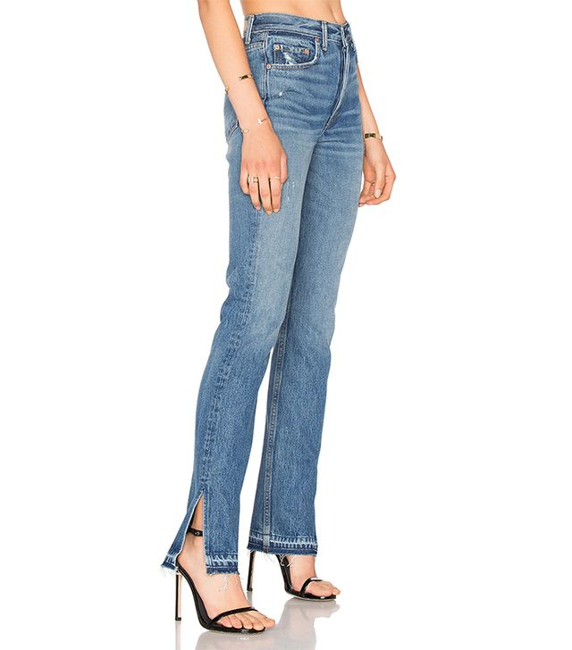 x REVOLVE Natalia High-Rise Skinny Split Jean