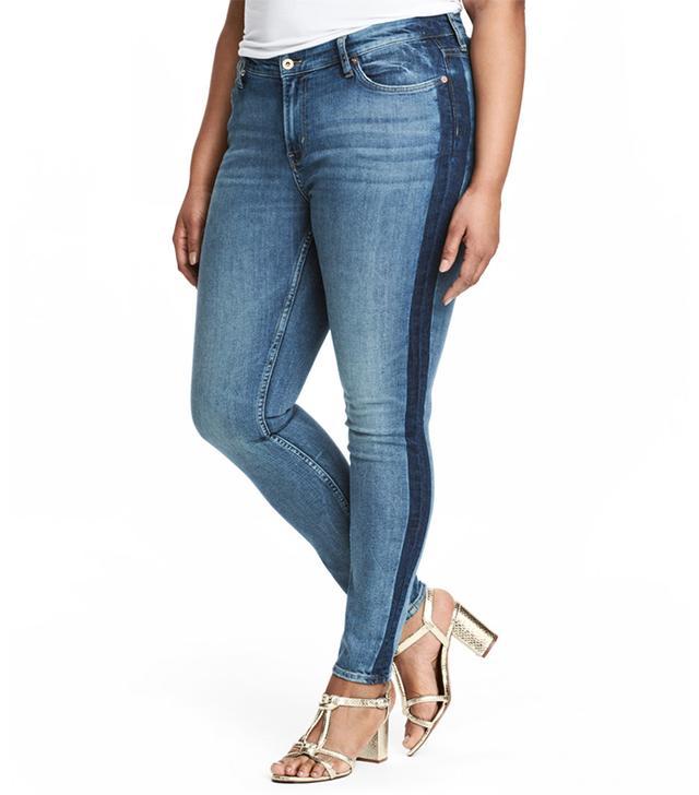H&M+ Skinny Regular Jeans