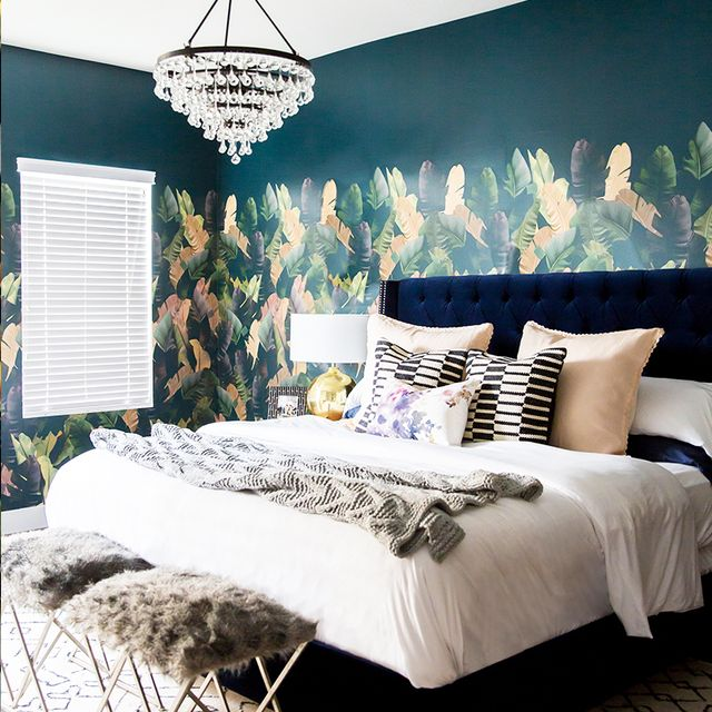 We're Head Over Heels for This Blogger's Ultra-Stylish Bedroom Makeover