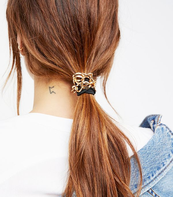 Chain Hair Ties by Free People