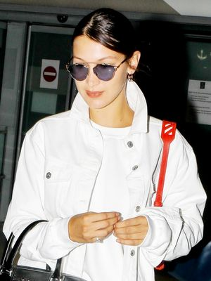 Bella Hadid's Airport Outfit Is Good, but Nothing Beats Her Sneakers