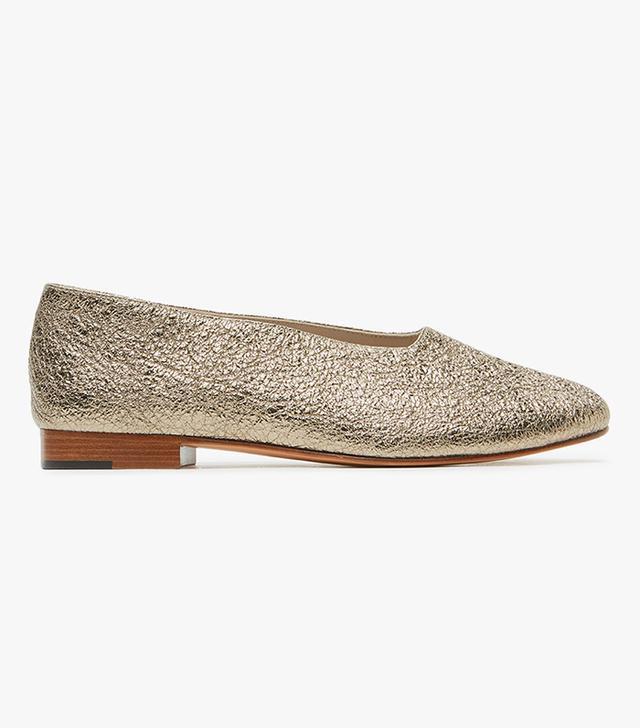 Glove Shoe in Platinum