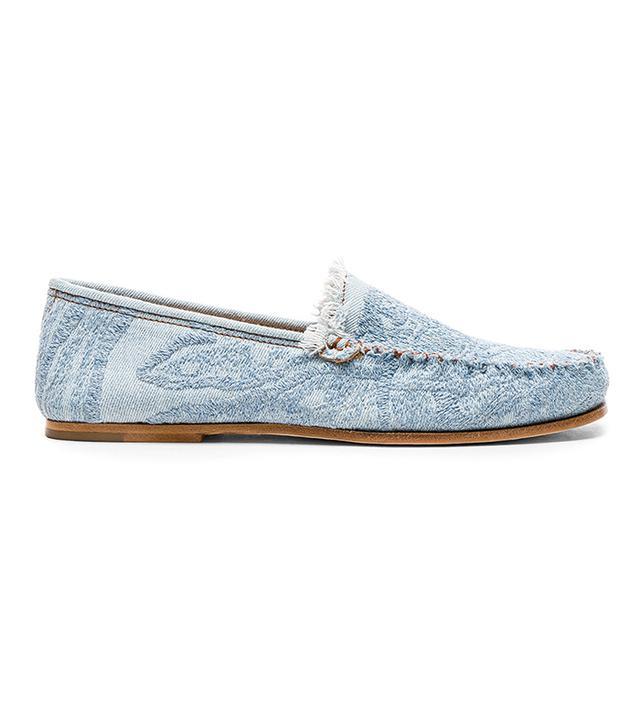 Jackson denim loafers