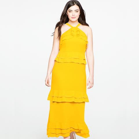 Studio Flounce Tiered Dress