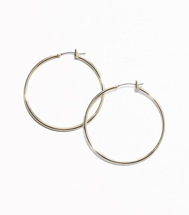 & Other Stories Large Hoop Earrings