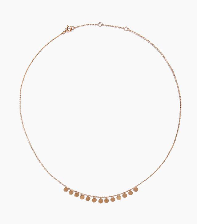 Adornmonde Cristobel Gold 925 Silver Necklace