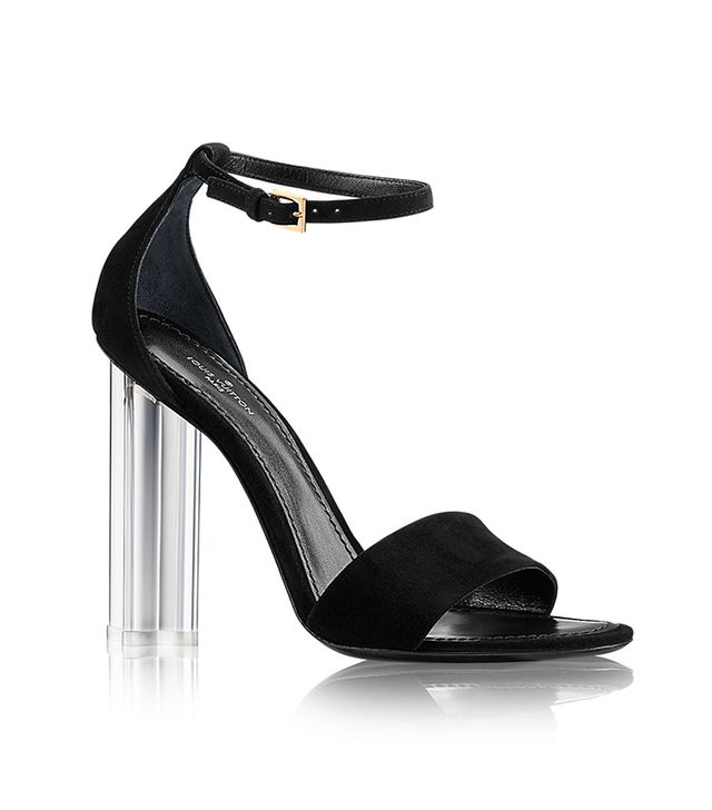 Louis Vuitton Crystal Flower Sandals