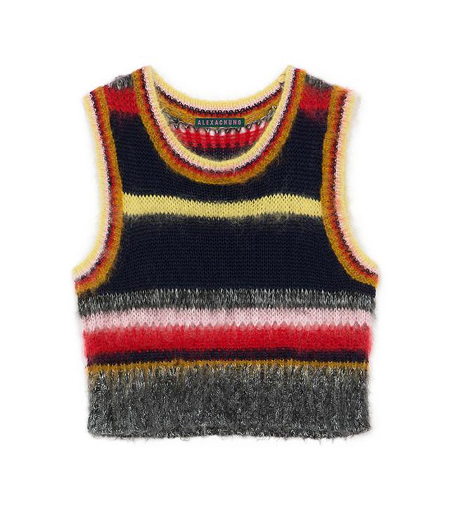 Alexachung Stripy Mohair Vest