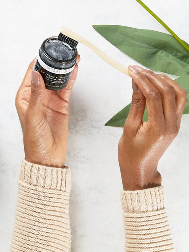 ASOS beauty: Sister & Co Raw Coconut & Activated Charcoal Tooth Whitening Polish