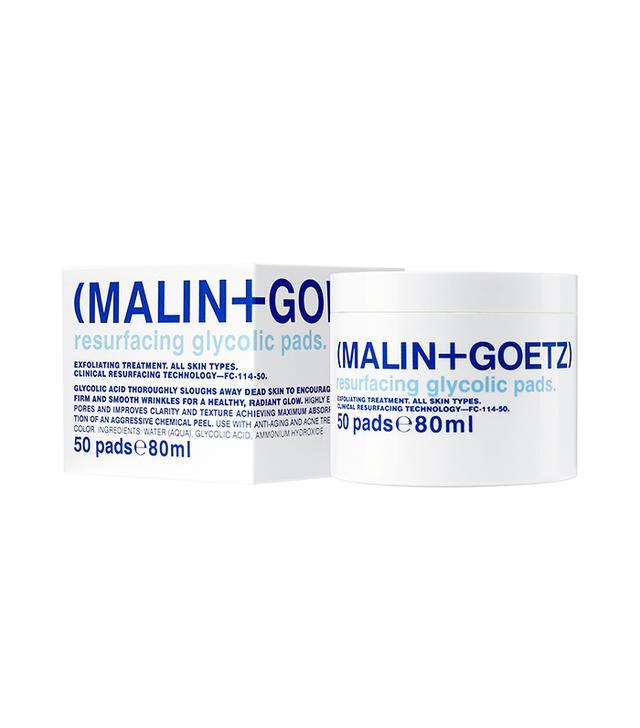 Space. nk. apothecary Malin + Goetz Resurfacing Glycolic Acid Pads