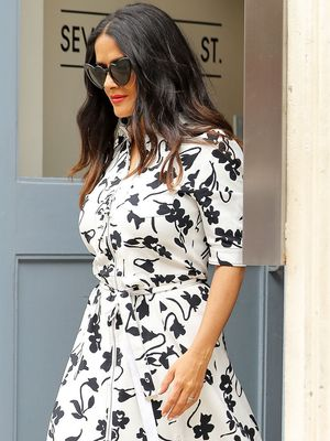 Everything Else Can Wait: You Need to See Salma Hayek's Shoes