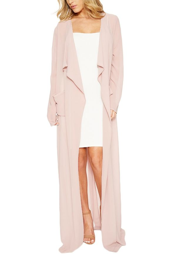 Naked Wardrobe The NW Sheer Trench