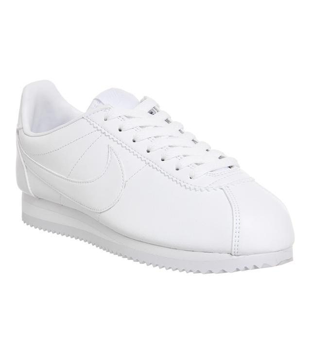 Nike Cortez White Mono Leather
