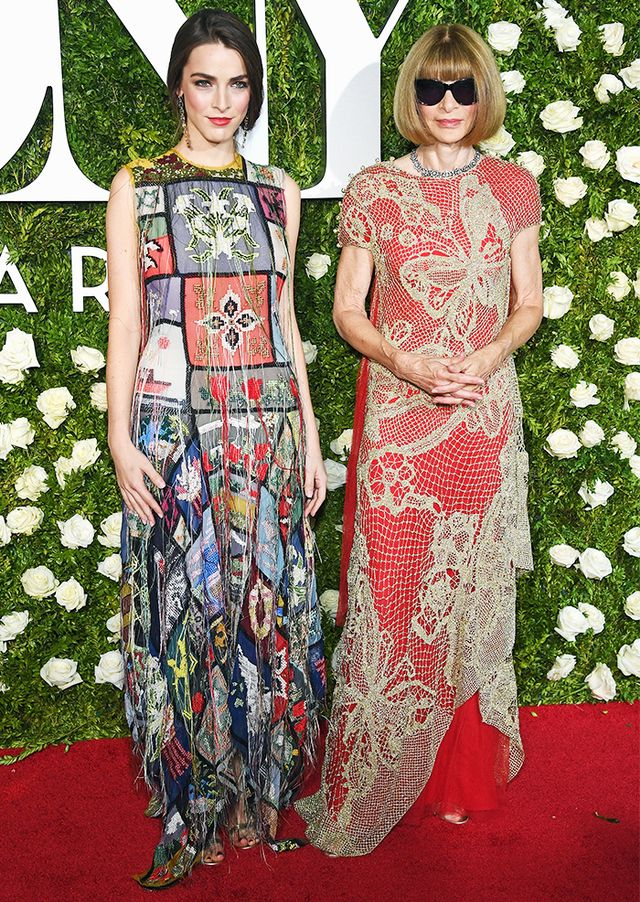 WHO: Bee Shaffer and Anna Wintour