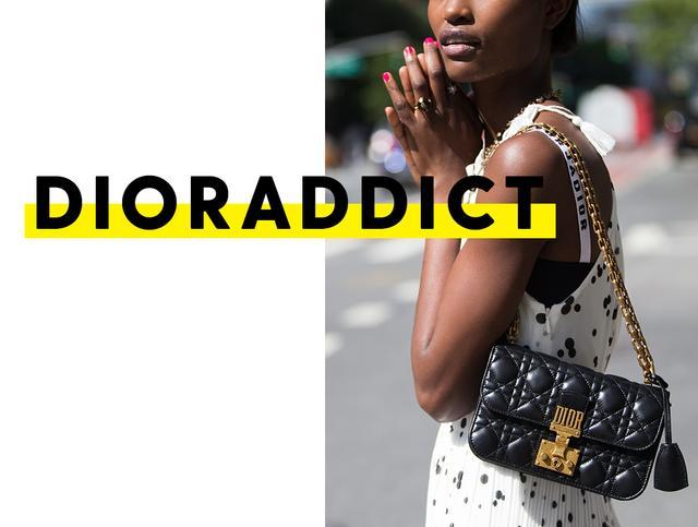 Dior bag - gold chain