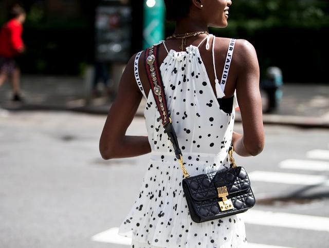 Dior bag -  bohemian strap