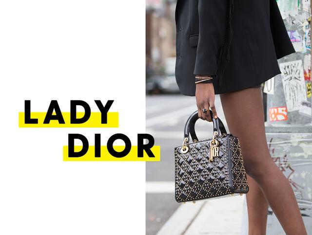 Lady Dior - studs